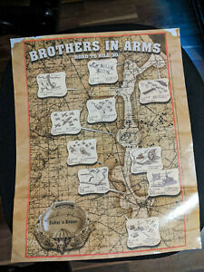Brothers in Arms: Road to Hill 30 Game Poster | 44.5 x 36 cm