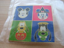Mickey Minnie Mouse Goofy Pluto Halloween LE3000 Pin 2002 Cast Member Fab 4