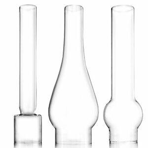 Petroleumlampe Glaszylinder Petromax Lampenglas klar Ersatz Glaskolben Lampe TOP