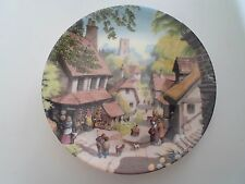 THE VILLAGE SHOP Plate By Robert Hersey Coalport China Tale of a Country Village