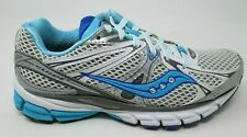 SAUCONY WOMEN'S PROGRID GUIDE 6 WHITE/SIL/BL RUNNING / ATHLETIC SHOES SIZE 7.5/M