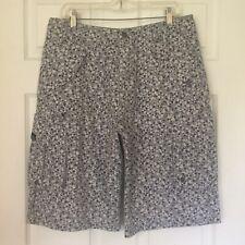 Nike 6.0 Men's Cargo Shorts Gray Polka Dot Multi-pocket Sturdy 100% Cotton Sz 34