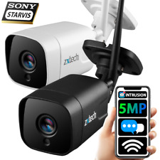 More details for zxtech wireless 5mp super hd long range wifi night vision motion ip cctv camera