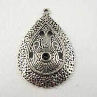 Silver Overlay Chandelier Earring Finding-40X30MM