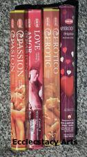 Hem Incense Love-Protection-Erotic-Aphrodisa Stick - Hem Incense Sampler NEW