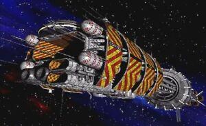 Explorer Class Babylon 5 (Plastic & Resin Model Kit)