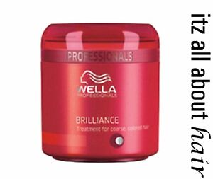 NEW Wella Professional Brilliance Treatment Mask 150ml Australian Stockist