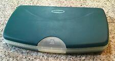 Vintage iMac Macintosh 1998 Teal Software & Laserline Media Zone Plastic Case