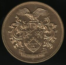 More details for 1968 the franklin mint token   pennies2pounds