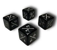 4x Black MTG -1/-1 Counter Dice Flipside
