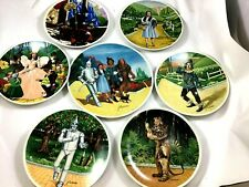 Lot of 7 - Wizard of Oz Collector Plates - Knowles Collector - Grand Finale Coa