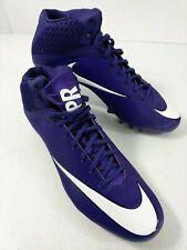 Nike Vapor Speed 2 3/4 TD Mid Men Football Cleats Size 14.5 Purple & White NWOB