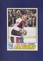 Mike McEwen RC 1977-78 O-PEE-CHEE OPC Hockey #232 (NM) New York Rangers