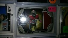 CARLOS HYDE 2014 TOPPS ROOKIE JERSEY CARD SAN FRANCISCO 49ER'S