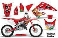 Fast Honda MX Graphics kit Factory Backing CR125-250 02-12