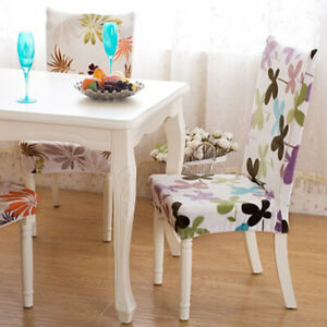 Elastic Chair Seat Cover Dining Chairs Smooth Stool Cushion Covers Protection