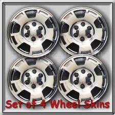 "2010-2011 Chevy, Chevrolet Suburban Wheel Skins Chrome Hubcaps 17"" Wheel Covers"