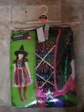 Girls Halloween Witch Costume Age 5-6 Years - BNWT