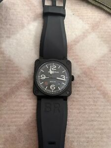Bell & Ross BR03-92 Ceramic Automatic Watch 10 months old