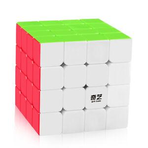Qiyi Qiyuan S 4x4x4 Speed Magic Cube 62mm Pro Stickerless Smooth Twist Puzzle
