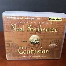 Neal Stephenson The Confusion Audio Book CD Baroque Cycle Volume 2 Historical