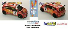 DECAL  1/43 -  FORD  FIESTA RRC  -  CIAVARELLA - Rally Pistoia  2015