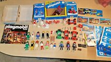 Playmobil 2034 2for1 3573 bicycle 3575 go kart MANY EXTRAS klicky poster ad lot