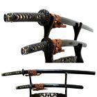 AA733 Japanese Samurai Edo Antique Great fittings daisho sword koshirae set.