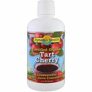 Dynamic Health Organic Tart Cherry 100% Juice Concentrate - 946ml