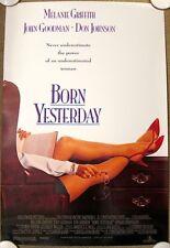 BORN YESTERDAY Original (1993) 27x40 Movie Poster JOHN GOODMAN MINT CONDITION!