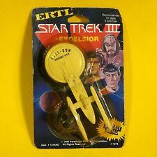 Vintage HTF Star Trek III Search For Spock USS Excelsior ERTL Die-Cast 1984