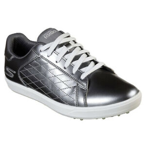 Skechers Ladies Go Golf Drive-Shine Golf Shoes - Pewter