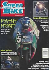 Superbike 1990 Suzuki DR Big Yamaha XT600E ZX10 Kawasaki Tengai Honda Dominator