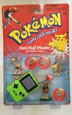 Pokemon Battle Figures - Dodrio, Farfetch'd, Doduo - Green/Magenta Pokedex