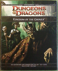 Dungeons and Dragons Module E2 KINGDOM OF THE GHOULS Wizards 48280