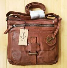 🎁 NWT Harbour 2nd Hazel Leather Crossbody in Cognac Handmade Bag German Design