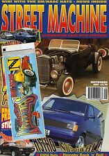 September Street Machine Transportation Monthly Magazines