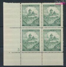 Bohemen en Moravië 26 met Nummerplaat postfris MNH 1939 Kasteel Karls (9310353