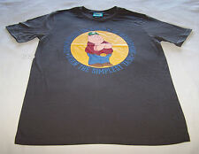 Family Guy Mens Peter Griffin Grey Printed T Shirt Size S New