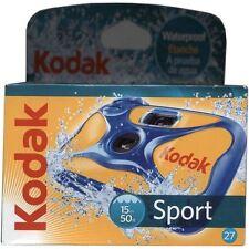 Kodak Aqua Sport de un solo uso Cámara Impermeable 400asa 27exp, nuevo