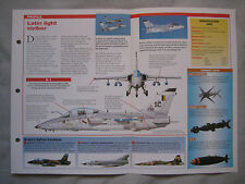 Aircraft of the World Card 45 , Group 5 - AMX International AMX