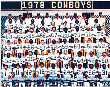 1978 DALLAS COWBOYS 8X10 TEAM PHOTO STAUBACH DORSETT TEXAS FOOTBALL NFL