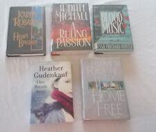 Lot of 5 Mystery Suspense Books Karen Robards Judith Michael Heather Gudenkauf +