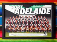 ✺Framed✺ 2020 PORT ADELAIDE POWER AFL Poster - 45cm x 32cm x 3cm