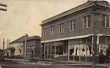 E33/ Stanley Wisconsin Wi RPPC Postcard 1908 2nd Ave Northwestern Lumber CO