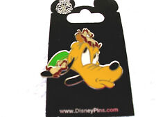 Disney * Pluto with Chip & Dale on Head * New on Card Character Trading Pin