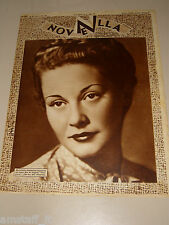 NOVELLA=12 NOVEMBRE 1941=MARIA DENIS=ANTOLOGIE DI NOVELLE RACCONTI=