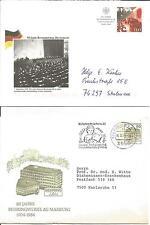 Germania DBP Behring Marburg 1984 BUNDERSREPUBLIK Deutschland Copertura 1999 x 2