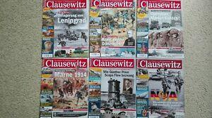 Clausewitz, Magazin für Militärgeschichte, Jahrgang 2014, 6 Hefte