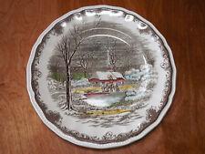 Kensington Staffords England SHAKESPEARE'S SONNETS R2815 Set of 4 Dinner Plates